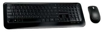Microsoft Wireless Desktop 850 Black USB