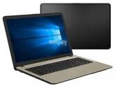 "Ноутбук ASUS VivoBook X540BA-GQ408T (AMD A4 9125 2300MHz/15.6""/1366x768/4GB/128GB SSD/AMD Radeon R3/Windows 10 Home) 90NB0IY3-M11960, Silver Gradient"