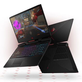 "Ноутбук HP OMEN 15-dc0 5MH42EA (Intel Core i7 8750H 2200MHz/15.6""/1920x1080/16GB/256GB SSD/1000GB HDD/DVD нет/NVIDIA GeForce GTX 1070 8GB/Wi-Fi/Bluetooth/Windows 10 Home)"