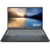 "Ноутбук MSI Prestige 14 A11SCX-052RU (9S7-14C412-052) (14"" UHD, Intel Core i7-1185G7, 32Gb, SSD 1Tb, no ODD, NVidia GTX1650 4Gb, Win10, серый)"