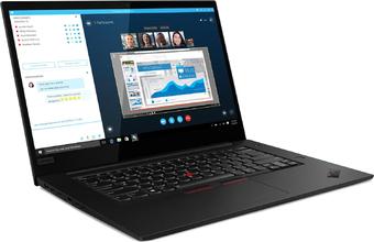 "Ноутбук Lenovo ThinkPad X1 Extreme 2nd Gen Intel Core i7 9750H 2600MHz/15.6""/3840x2160/32GB/1000GB SSD/DVD нет/NVIDIA GeForce GTX 1650 MAX-Q 4GB/Wi-Fi/Bluetooth/Windows 10 Pro"